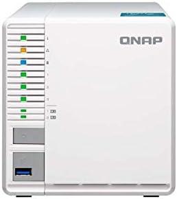 QNAP TS-351-2G Gabinete NAS para computadora de 3 bahías con 2GB de RAM