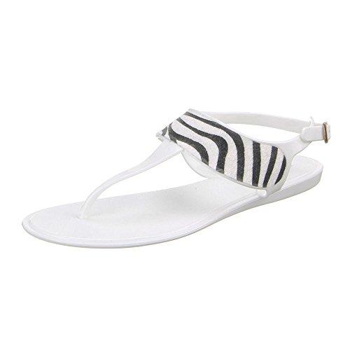 Ital-Design - zapatilla baja Mujer Blanco - blanco