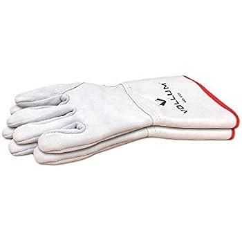 Vollum High-Heat 572° Fahrenheit Suede Oven Gloves, 1 Pair (14 Inch)