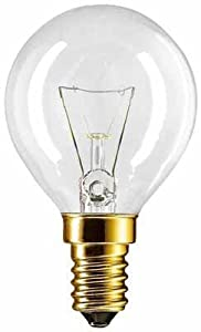 Backofenlampe P45X78 40 Watt E14 klar - Philips