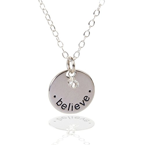 Sterling Necklace Inspirational Spiritual Religious product image