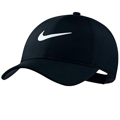 Gear Nike Running - Nike Women's Perf Golf Cap (Black) Adjustable