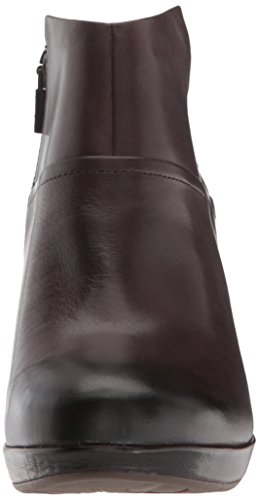 Chocolate Calf Dansko Women's Ankle Boot Burnished Miley PWznvzC7q