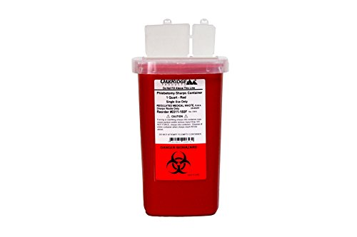 1-Quart-size-Sharps-and-Needle-Container-by-Oakridge-Products-Integrated-needle-unwinder