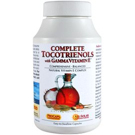 Complete Tocotrienols with Gamma Vitamin E 120 Capsules by Andrew Lessman