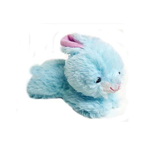 Hug Fun Tiny Blue Bunny Rabbit Plush Toy 5