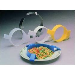 Translucent Food Bumper Eating Aids [Set of 3] by Ableware by Ableware