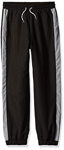 French Toast Boys' Big' Athletic Track Pant, New Black, 12