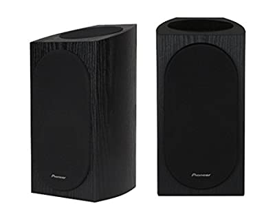 Pioneer SP-BS22A-LR Andrew Jones Designed Dolby Atmos Bookshelf Speaker (Black) by Pioneer