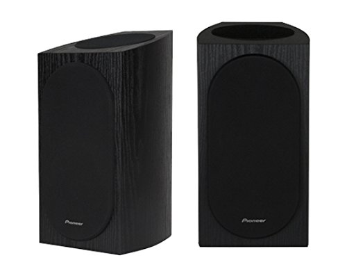 Pioneer SP-BS22A-LR Andrew Jones Designed Dolby Atmos Bookshelf Speaker (Black)