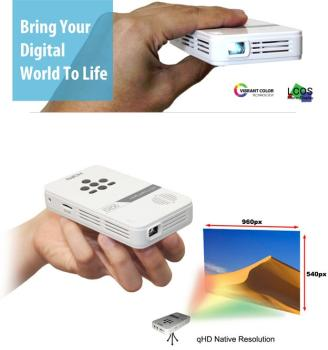 AAXA LED Pico Ultra-Portable Pocket Projector