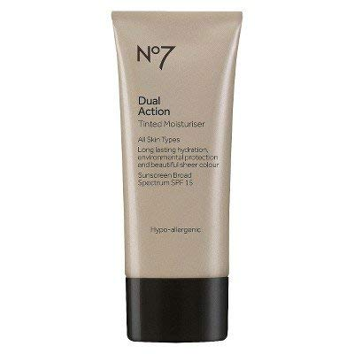 No7 Dual Action Tinted Moisturiser SPF 15