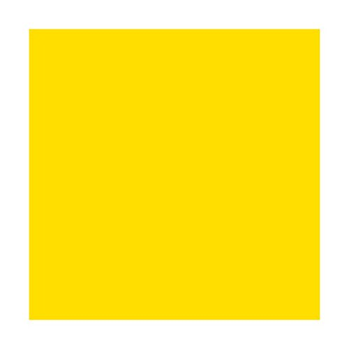 Pazzles Cutters Glossy Yellow 12 x 40 ft Roll of Permanent Adhesive-Backed Vinyl for Cricut Cutters Craft E Vinyl CraftROBO Cutters QuicKutz Cutters CEV1609