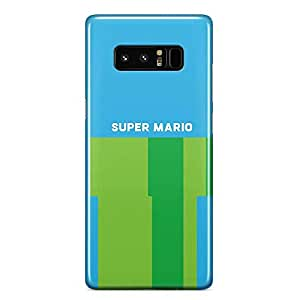 Loud Universe Mario Brother ingame Samsung Note 8 Case Original Style Samsung Note 8 Cover with 3d Wrap around Edges