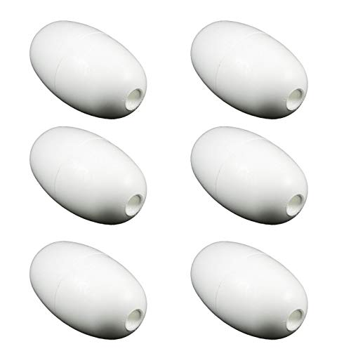 MRT SUPPLY Letro Legend Swimming Pool Cleaner Ballast Float Head (6 Pack) with Ebook