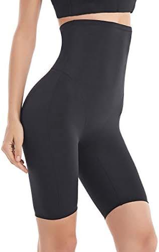 Fianmy Women's Shapewear High Waist Seamless Body Shaper Butt Lifter Panty Tummy Control Thigh Slimmer