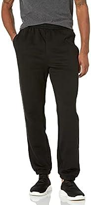 Amazon Essentials Mens Closed Bottom Fleece Pant