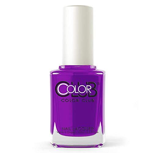 Color Club Poptastic Neons Nail Polish, Purple, Disco Dress.05 Ounce