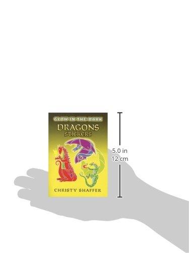 Kindergarten Easy Non-Fiction JUVENILE Picture Books Children/'s Books//Novelty Children/'s interactive /& activity books /& packs Children Dover Glow-in-the-Dark Dragons Stickers Dover Publications DOV-46213 Activity Books General CHILD