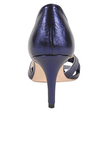 Boter Schoenen Vrouwen Percy Sandaal Inkt Blauw Metallic