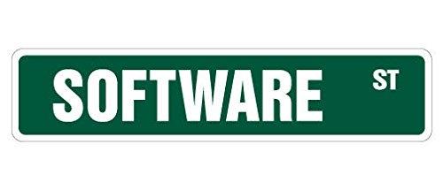 Cortan360 SOFTWARE Street Sign computer developer new IT geek| Indoor/Outdoor | 8