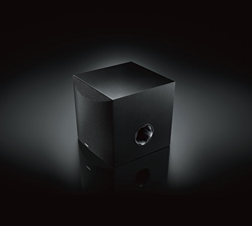yamaha 8 39 100w powered subwoofer black ns sw050bl