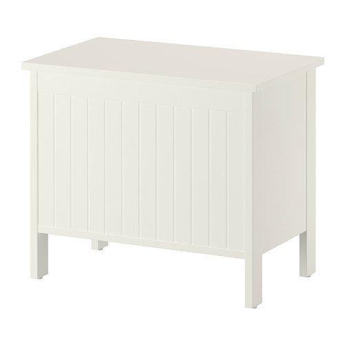 Ikea Silveran - Banco de Almacenamiento, Blanco - 70 cm ...