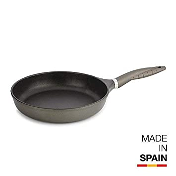 Valira Tecnoform - Sartén Premium de 20 cm hecha en España, aluminio fundido con antiadherente reforzado, no apta para inducción: Amazon.es: Hogar