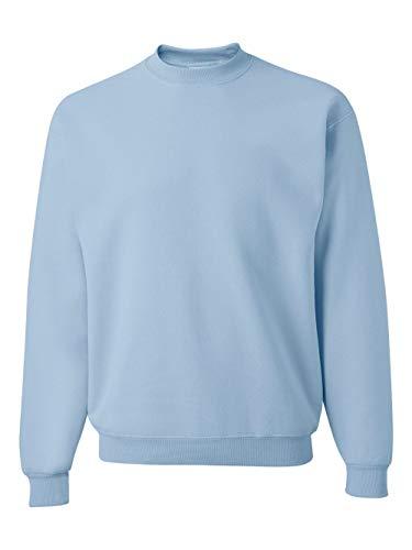 JERZEES - Crewneck Sweatshirt. 562M - X-Large - Light Blue