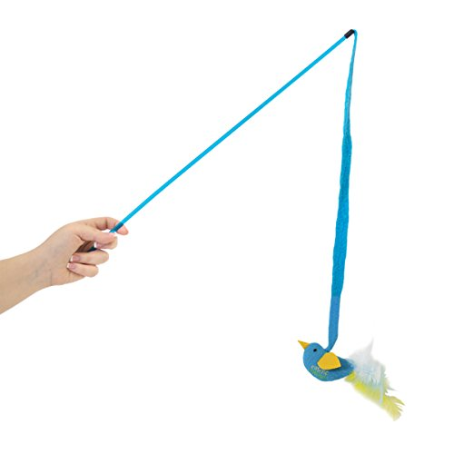 See OurPets High Flyer Catnip Play Wand Cat Toy