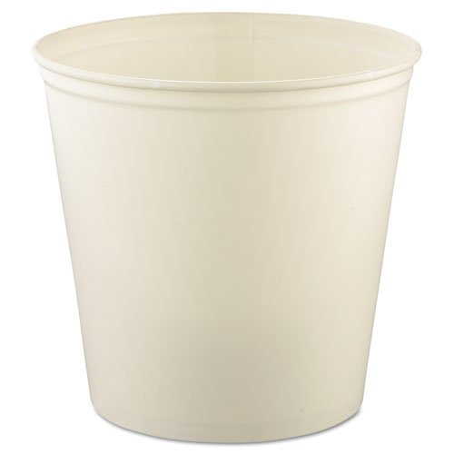 - SOLO Cup Company Double Wrapped Paper Bucket, Waxed, White, 165 oz - Includes 100 per case.