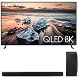 "Samsung QN55Q900RB 55"" 8K Ultra High Definition Smart QLED TV with a Samsung HW-Q900T 7.1.2 Channel Soundbar with Dolby Atmos"