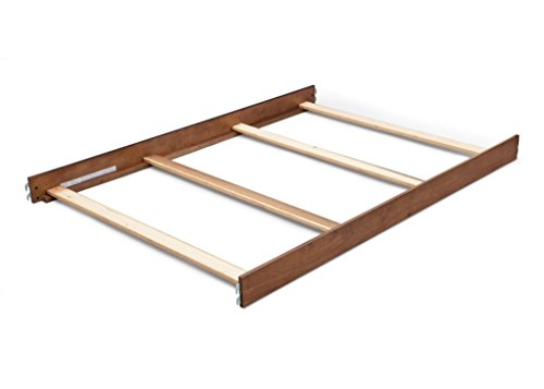 Simmons/Delta Childrens Hanover Park Crib-N-More Crib Full Size Conversion Kit Bed Rails - Chestnut by Simmons & Delta Children's Furniture