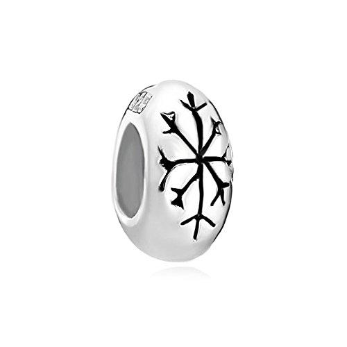 CharmsStory Sterling Silver Snowflake Bracelets