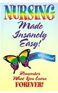 Nursing Made Insanely Easy 9780984204021 Medicine Health Science