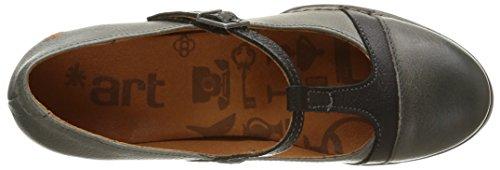 Art 925, Zapatos Mary Jane Gris (Grey)