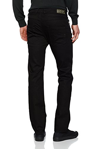 para Tapered Belther Hombre Diesel Negro Vaqueros fqnZvnwgt