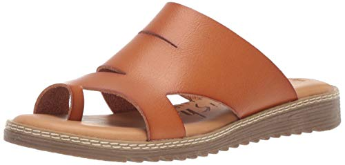 Blowfish Women's Okra Sandal, Desert Sand Dyecut, 9 Medium US