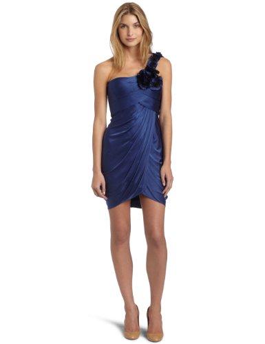 Gathered Jersey Dress - 5