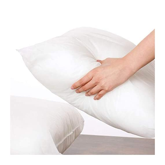 Phantoscope 4 Packs Outdoor Anti-Mold Water Resistant Throw Pillow Inserts Hypoallergenic Square Form Sham Stuffer 18 x 18 inches 45 x 45 cm - Size:18 x 18 inch , 45 x 45 cm. 4 Pack Water Resistant Throw Pillow Inserts Vacuum Packaged Insert Filling Material: 100% Polyester Microfiber. - patio, outdoor-throw-pillows, outdoor-decor - 31cSxjo8mzL. SS570  -