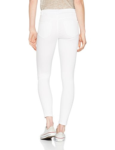 Bianco Jeans White Donna Noisy bright Slim May vIwqwn1B