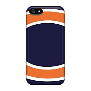 Tpu Shockproof/dirt-proof Chicago Bears Cover Case For Iphone(5/5s)