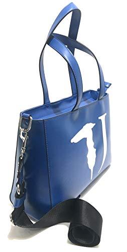 Con Bluette Trussardi Tracolla T Tote Donna Lg Bs19tj82 Borsa Jeans Ecopelle easy qzzSt1Fx