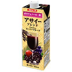 Sujata acai blend 1000ml paper pack X6 pieces by Sujata