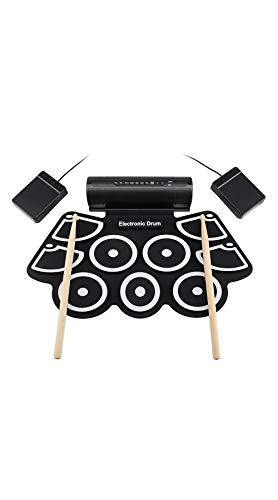 SCRT Percussion Instrument Thick Silicone Hand Roll Drum Drum USB Drum Electronic Drum