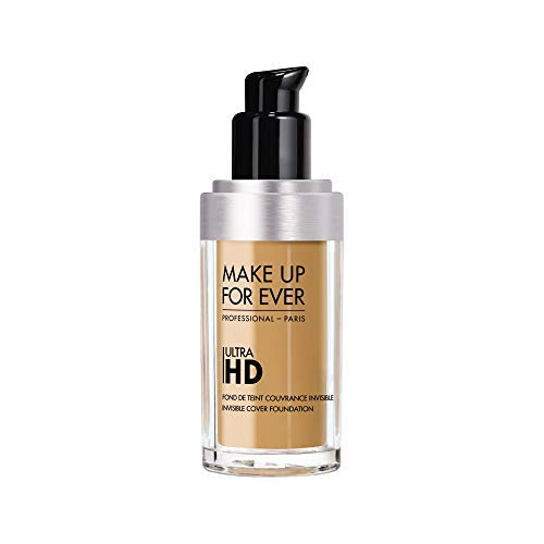 MAKE UP FOR EVER Ultra HD Invisible Cover Foundation 153 = Y405 Golden Honey