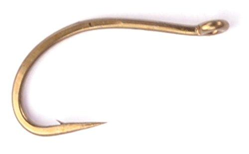 Daiichi 1150 Curved Fly Tying Hooks (#14 (1150-14-25)) (Scud Fly Hooks Tying)