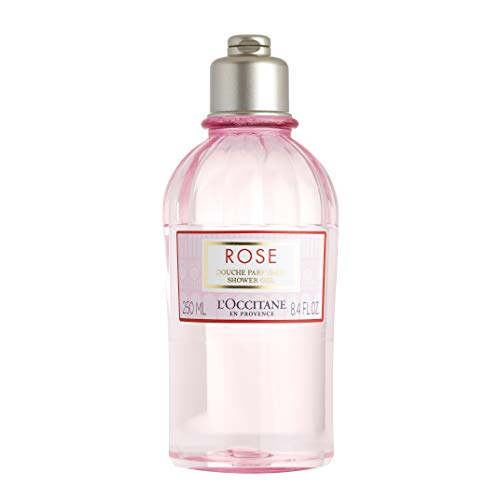L'Occitane Gentle Rose Shower Gel Enriched with Rosa Centifolia Floral Water, 8.4 fl. ()