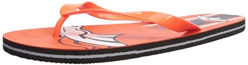 Denver Broncos Unisex Gradient Big Logo Flip Flop Large