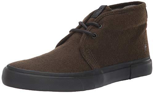 FRYE Men's Ludlow Chukka Sneaker, Loden, 10.5M Medium US (Loden Wool Green)